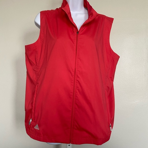 adidas Jackets & Blazers - Adidas Womens Sz L Sleeveless Golf Vest Cl…